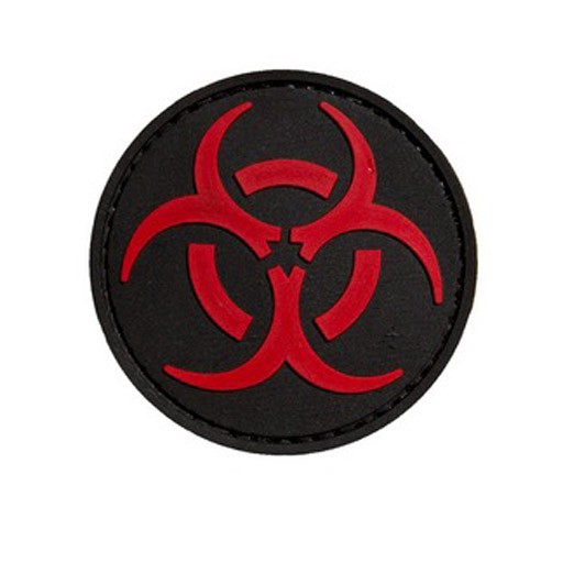 TROOPER CLOTHING Trooper Clothing, Patch Biohazard