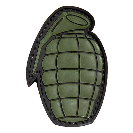 TROOPER CLOTHING Trooper Clothing, Patch Grenade