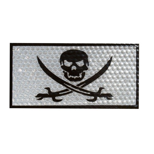 TROOPER CLOTHING Trooper Clothing, Reflective Jolly Roger