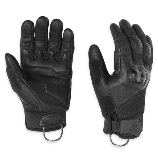 OUTDOOR RESEARCH Outdoor Research Piledriver Gloves With Molded Knuckles - Black - Size 2X