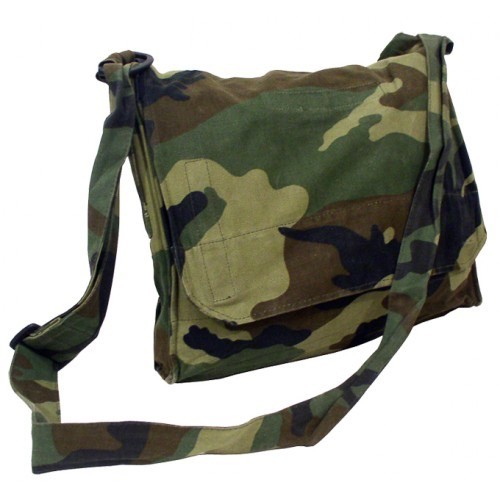 Bag, Shoulder, Croatian, Woodland Camouflage
