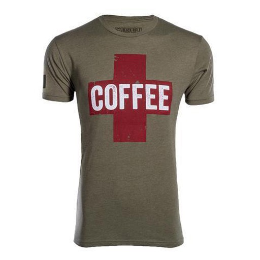 BLACK RIFLE COFFEE Black Rifle Coffee, Coffee Saves Shirt
