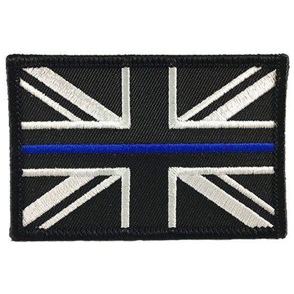 Thin Blue Line Patch, United Kingdom Thin Blue Line, Sew On