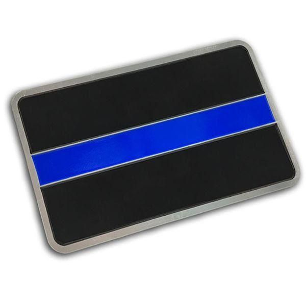 Thin Blue Line Thin Blue Line Classic Vehicle Emblem