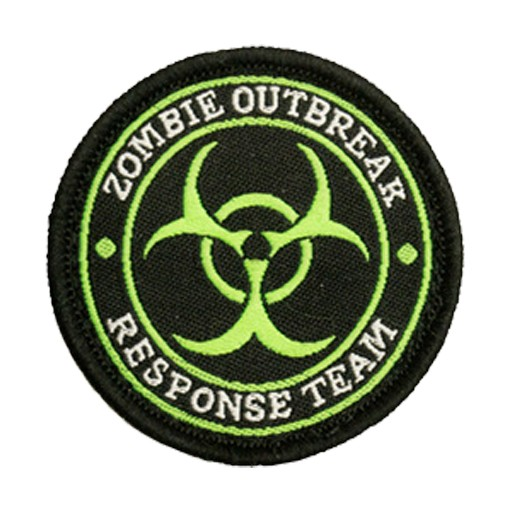 TROOPER CLOTHING Trooper Clothing, Patch Zombie Outbreak Response Team