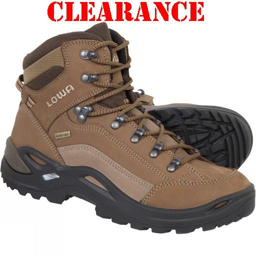 a740e198a69 LOWA, Renegade, GTX MID, Boots Taupe/Sepia, Women's