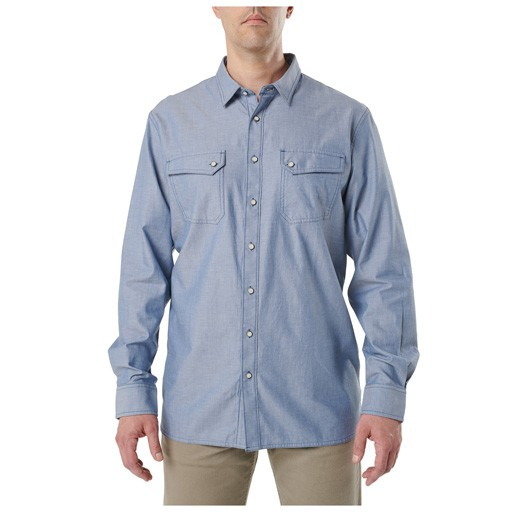 5.11 TACTICAL 5.11 Tactical, Buckshot Chambray Shirt