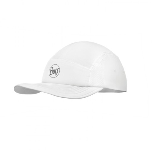 BUFF Run Cap, White