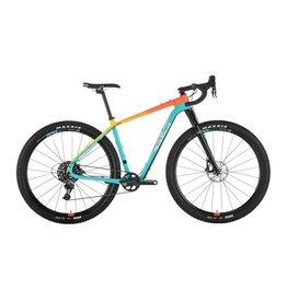 Salsa Salsa Cutthroat Force 1 Bike, MD, Teal/Orange Fade