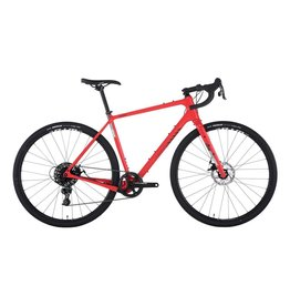 Salsa Salsa Warbird Carbon 700c Apex 1 Bike, 56cm, Red