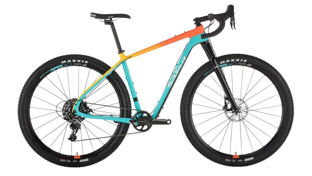 Salsa Salsa Cutthroat Force 1 Bike LG Teal/Orange Fade