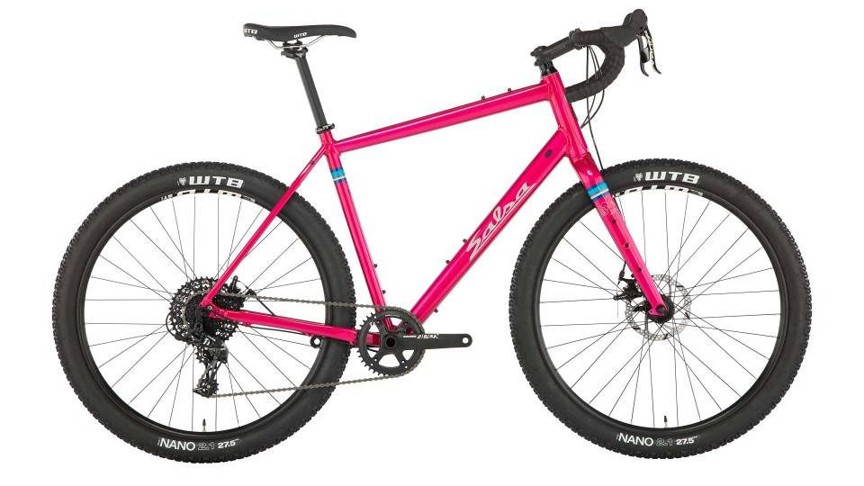 Salsa Salsa Journeyman Apex 650b Bike, 52cm, Pink