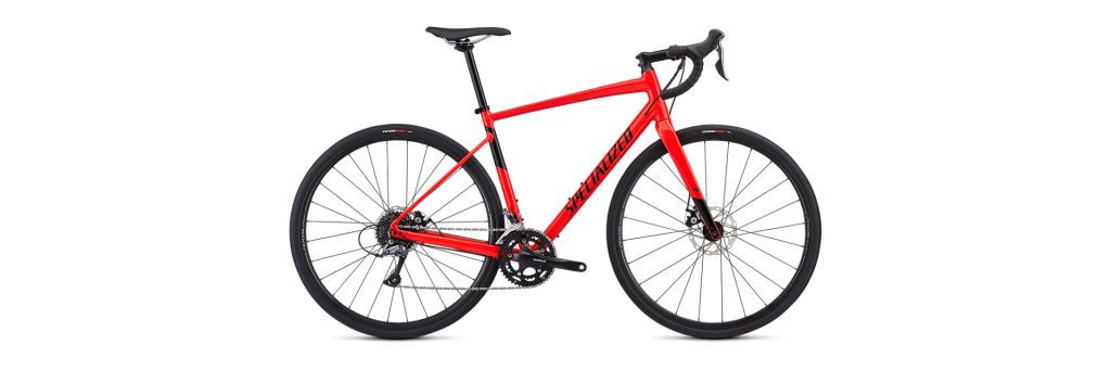 Specialized Specialized Diverge E5, Mens 56cm, Gloss Rocket Red/Black