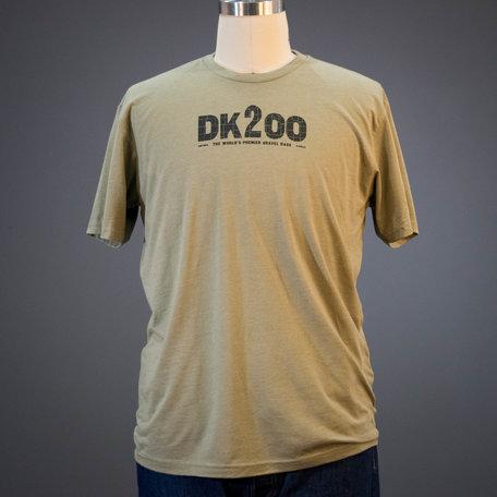 2019 Dirty Kanza Men's (DK200) Tee Olive