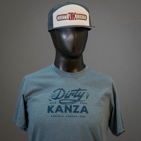 2019 Dirty Kanza Panel Trucker DK Logo