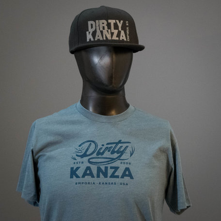 2019 Dirty Kanza Flat Bill Trucker Black