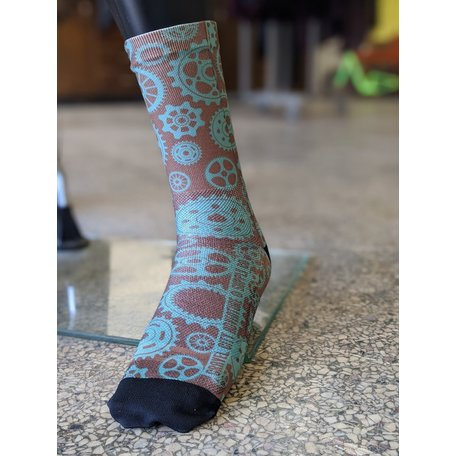"Gravel City Custom 6"" Sock,"