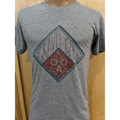 2019 Gravel City T-Shirt, Diamond Logo,