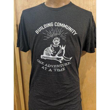 Gravel City Building Community T-Shirt,
