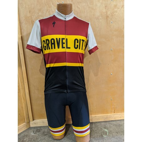 Gravel City Custom RBX Comp SS Jersey, Mens