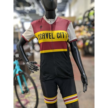 Gravel City Custom RBX Comp SS Jersey, Womens