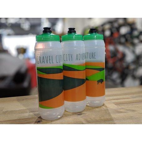 Gravel City Water Bottle, 32oz,