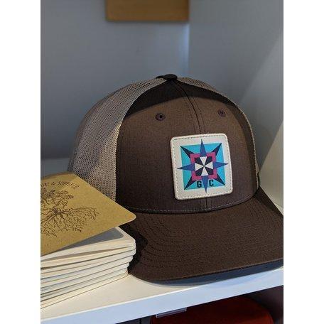 Gravel City Custom Barn Quilt Trucker Hat