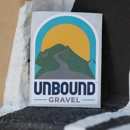 Sticker 2021 UNBOUND Gravel