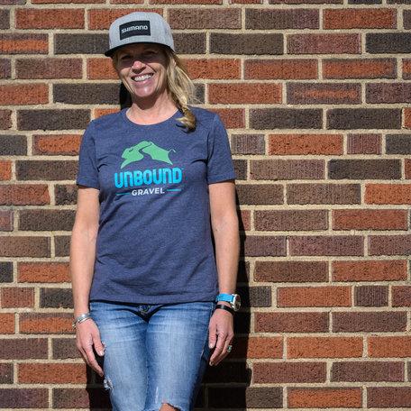 Womens Tee Shirt 2021 UNBOUND Gravel