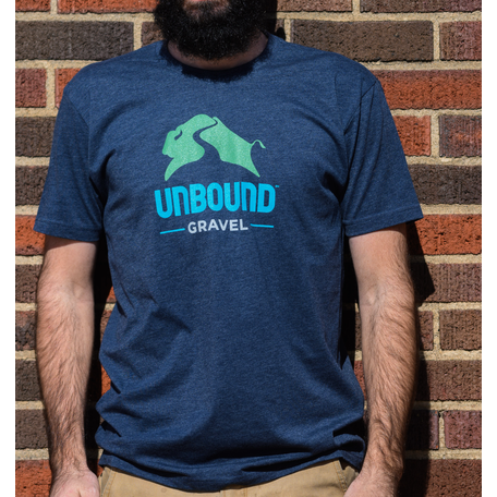 Mens Tee Shirt 2021 UNBOUND Gravel