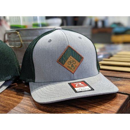Gravel City Custom Barn Quilt R-Flex Trucker Hat