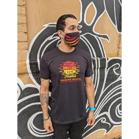 Race the Sun T-Shirt Black 2021 UNBOUND Gravel