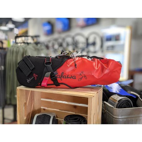 Halawa Bags Big Bag Harnes w/ Dry Bag Seatbag, 15L