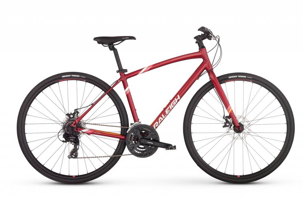 Raleigh USA Raleigh Alysa 2, Womens Large 19, Red