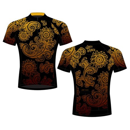 Dirty Kanza 2018 Men's Race The Sun Jersey