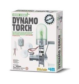 4M 4M Green Science Dynamo Torch