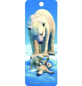 Artgame Artgame 3D Bookmark , Polar Bears, 1