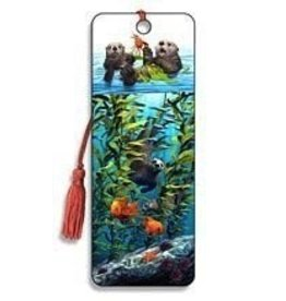 Artgame Artgame 3D Bookmark , Sea Otters, 1