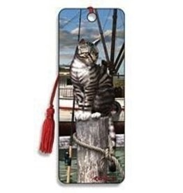 Artgame Artgame 3D Bookmark , Wharf Cat, 1