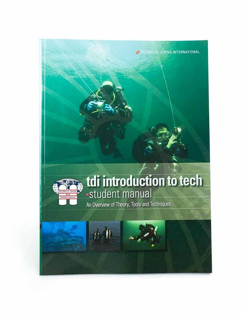 TDI Intro to Tech Diver Manual