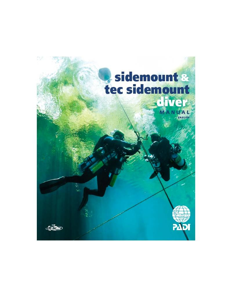 PADI PADI Manual Sidemount Diver