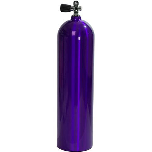 Diversco / Akona / Sherwood Blue Steel Tank / Cylinder w/ Valve