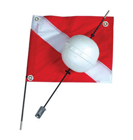 Marine Sports Mfg. Marine Sports Flag & Float 2 pc