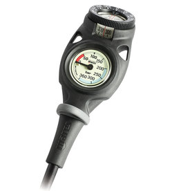 Mares Mission 2 Compact Pressure Gauge w/Compass