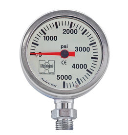 XS Scuba Gauge 2.5'' Brass & Glass SPG