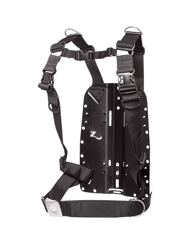 Huish Zeagle Deluxe Anodized Aluminum w/Harness