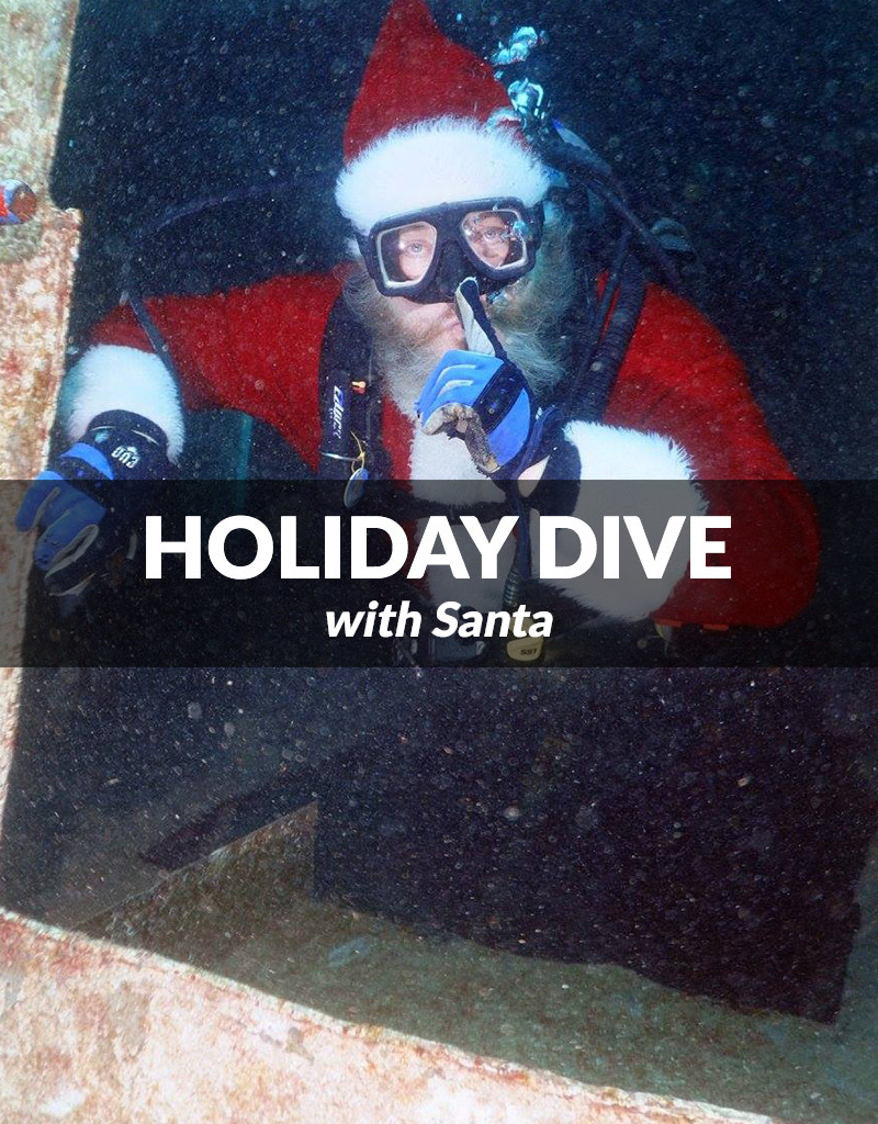 Force-E Scuba Centers Holiday Dive with Santa