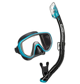 Tusa Serene Adult Black Series Mask / Snorkel