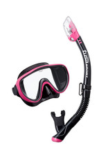 Tusa Tusa Serene Adult Black Series Mask / Snorkel