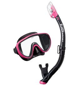 Tusa Serene Adult Black Series Mask / Snorkel
